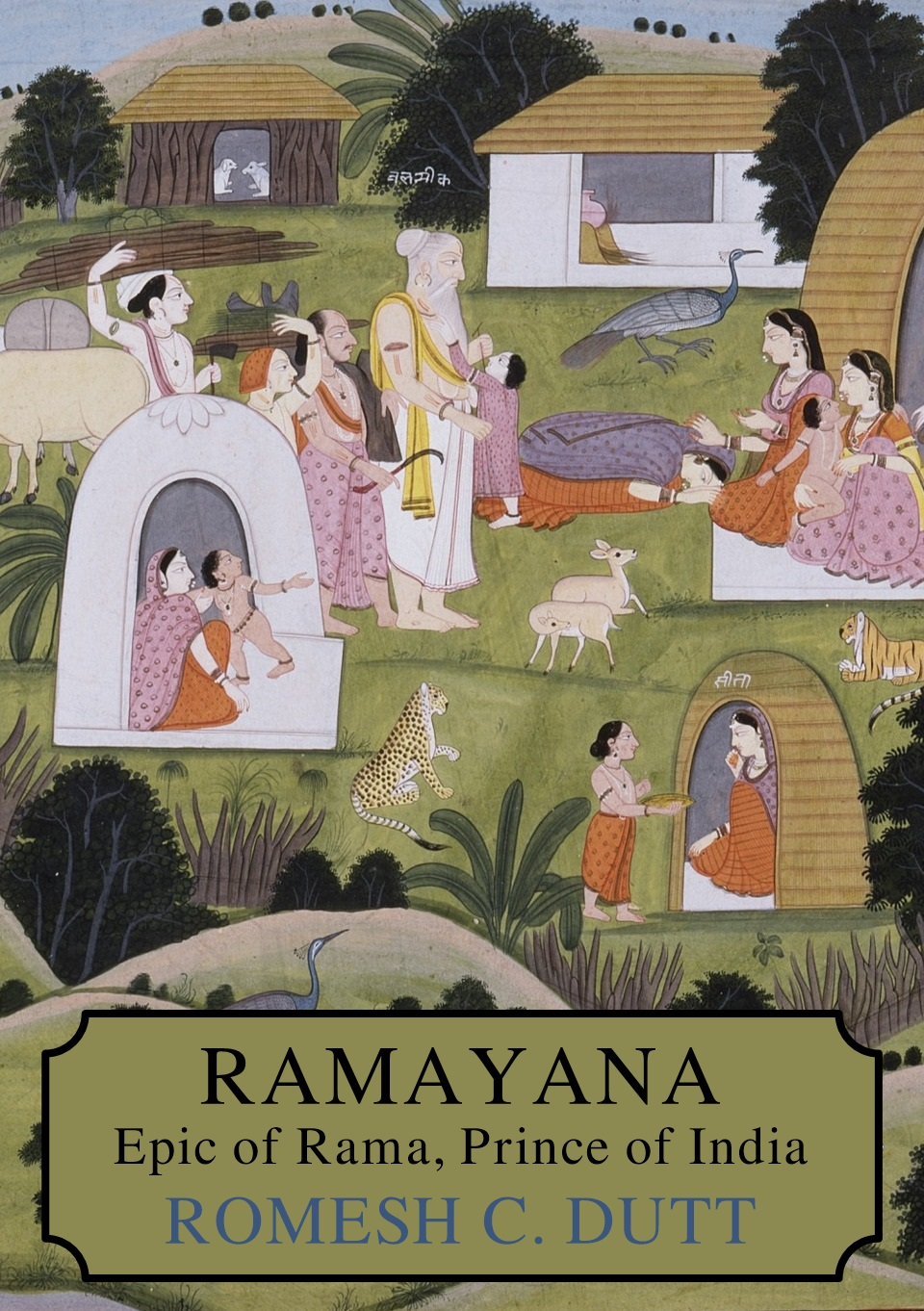 Ramayana, The Epic of Rama, Prince of India