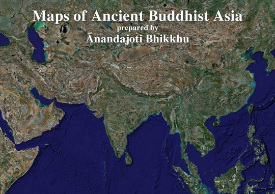 Maps of ancient buddhist asia 12 maps gumiabroncs Images