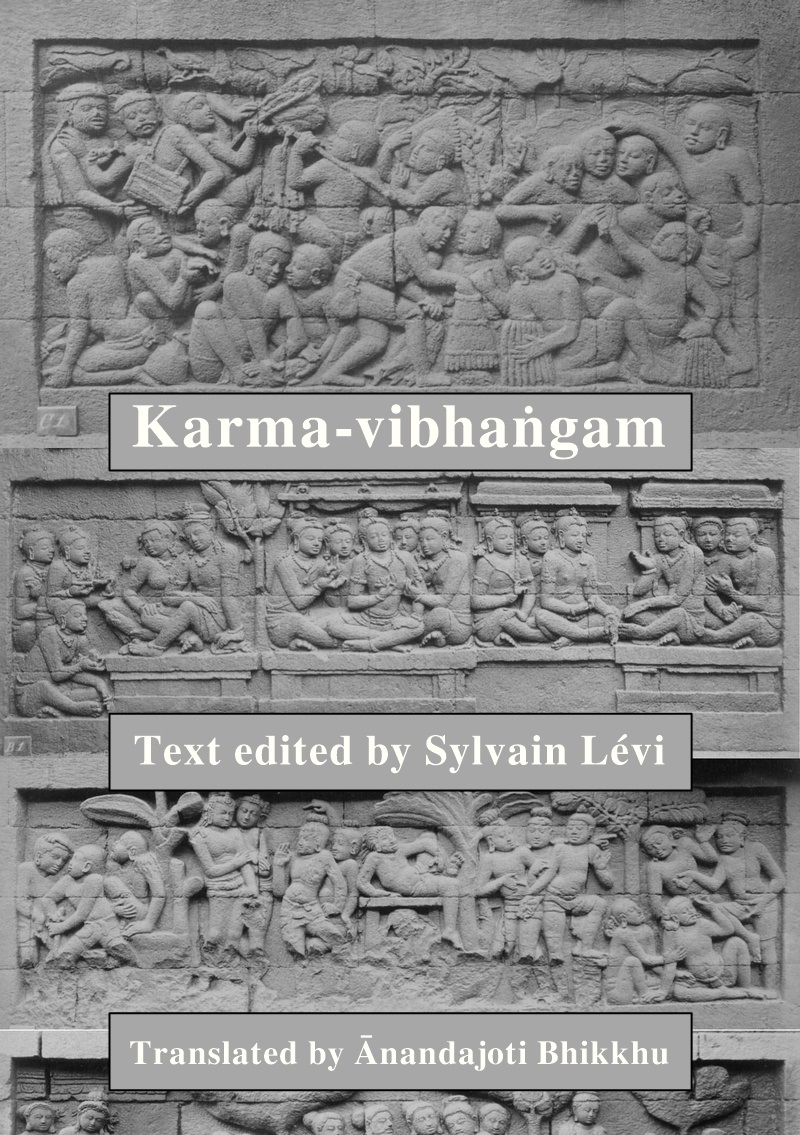 Karma-vibhanga, The Analysis of Deeds